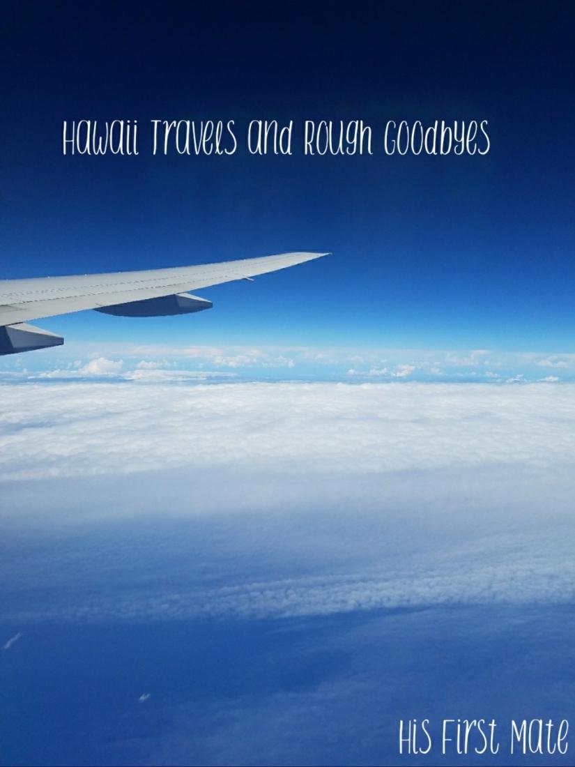 Hawaii Travels and DeploymentGoodbyes